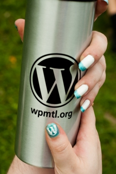 WordPress style all UP in here!